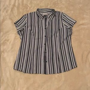 Striped Button-Down